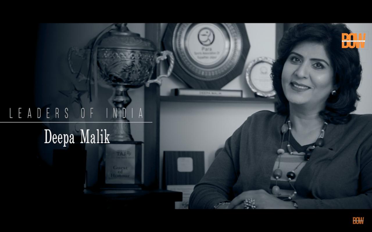 Indian Olympian Deepa Malik's most inspiring interview | Born of Web